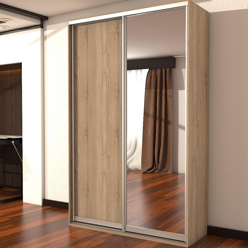 Шкаф купе 02 1800х450х2200 Алекса мебель