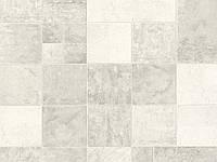 Обои виниловые супер мойка Плитка 5702-01 светло-серый