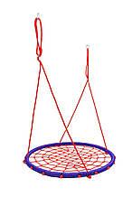 Качели гнездо аиста 100 см play4fun красно синий