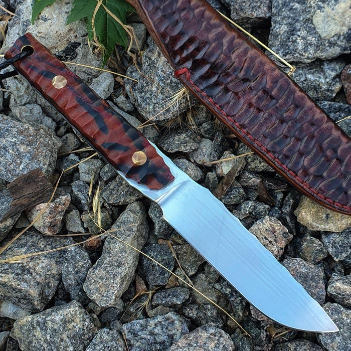 Нож ручной работы Berserk (сталь N690)