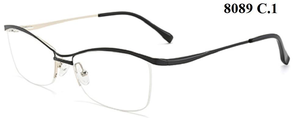 Полуоправные жіночі окуляри для дали (від -0.5 до -6.0)