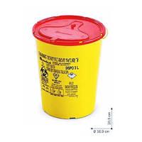 Контейнер одноразовый DISPO для сбора и утилизации игл и медицинских отходов 3л