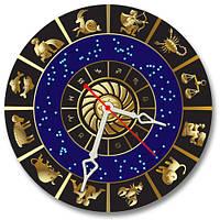 Зодиак - часы настенные 30*30 см