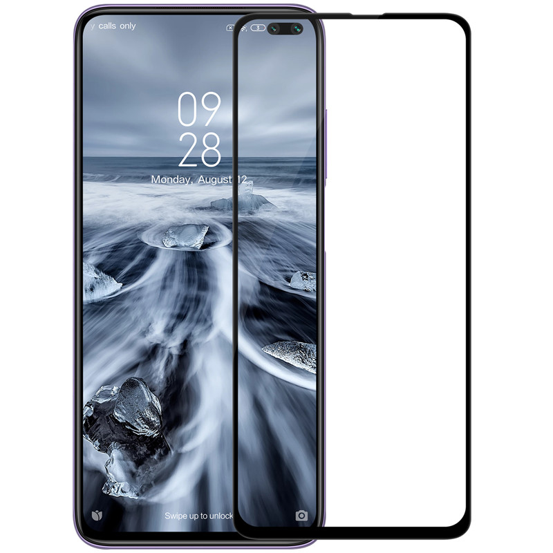 Nillkin Xiaomi Redmi K30 / POCO X3 NFC XD CP+MAX Black Anti-Explosion Glass Screen Protector Защитное Стекло