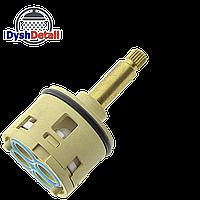 Картридж для смесителя душевой кабины на четыре ( 4 ) положения с латунным штоком диаметром 37 мм.