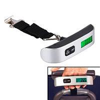 Весы для багажа электронные до 50кг безмен кантер