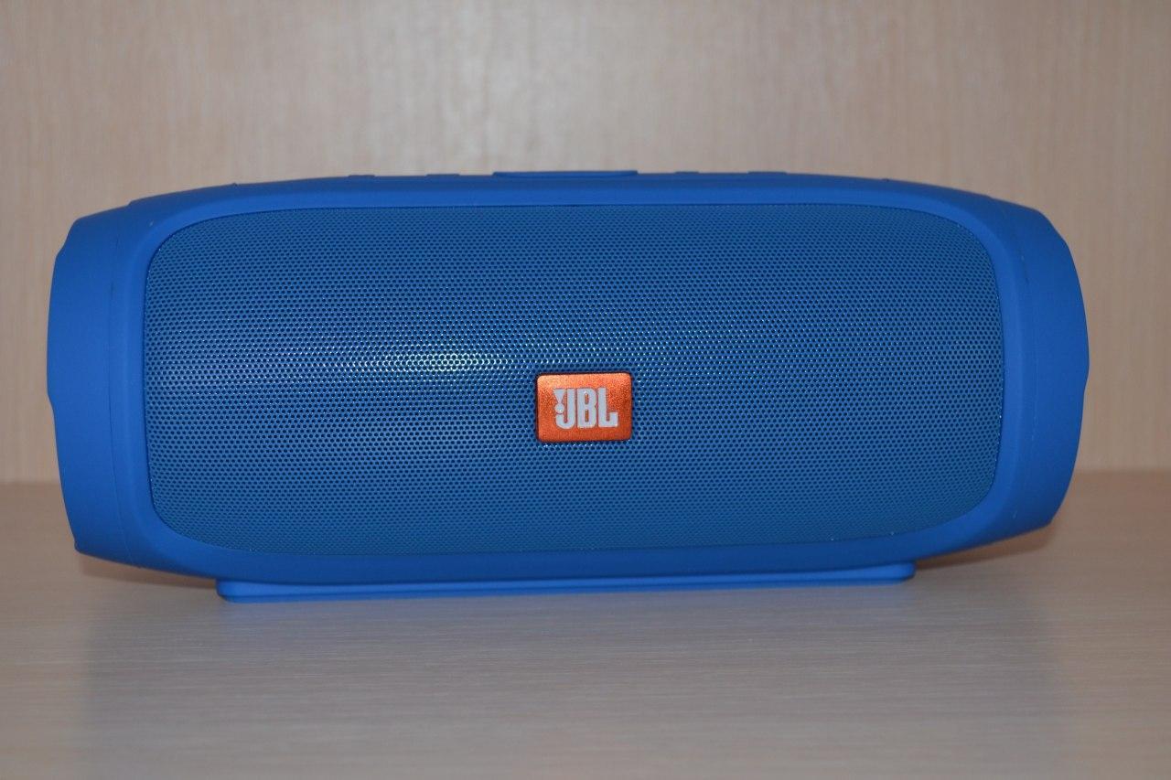 """JBL Charge 2+ Синяя Беспроводная Bluetooth портативная влагозащищенная колонка """"Реплика"""""""