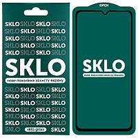 Защитное стекло SKLO 5D (full glue) для Samsung Galaxy A20 / A30 / A30s / A50/A50s/M30 /M30s/M31/M21