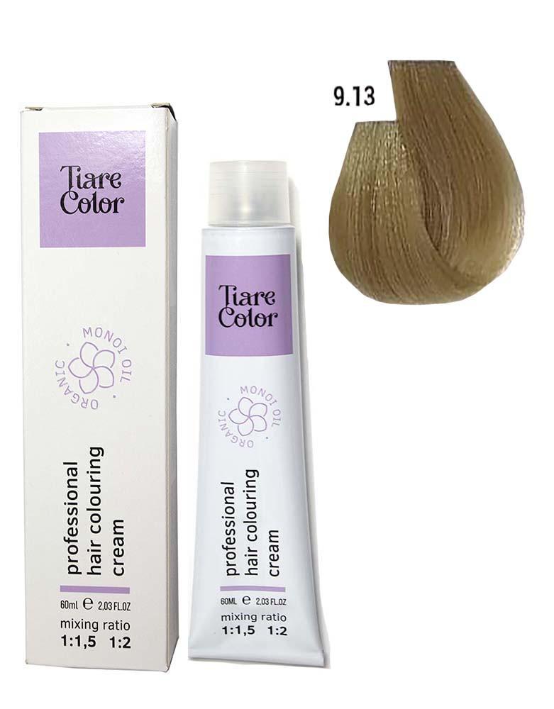 Крем - краска для волос 9.13 Tiare color 60 мл
