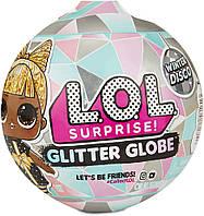 Кукла Лол в шаре Новогоднее диско LOL Surprise Glitter Globe Winter Disco, фото 1
