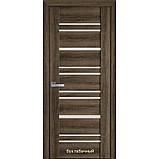 Двери межкомнатные Вива Валенсия Новый Стиль ПВХ со стеклом сатин 60, 70, 80, 90, фото 3