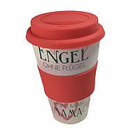 Кофейная кружка to Go Becher 350ml Bambus Engel