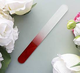Пилочка стеклянная для натуральных ногтей большая 19 см Б-3