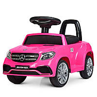Детский электромобиль Mercedes (розовый)