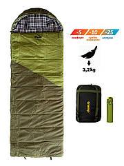 Спальный мешок одеяло Tramp Kingwood Long TRS-053L. Туристический спальник. спальник кокон