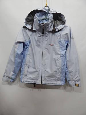 Куртка -ветровка,дождевик с капюшоном на подкладке FIVE Seasons (оригинал)  9-10лет, рост 134-140, 050д