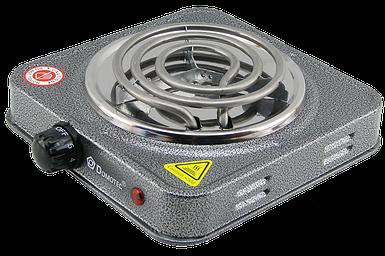 Электроплита DOMOTEC MS-5801 спиральная - настольная электрическая плита 1 конфорка (1000 Вт)