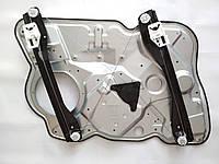 Стеклоподъемник передний правый Шкода Октавия А5 Skoda Octavia A5 ( трос направляющие салазки каркас) с картой, фото 1