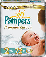 Подгузники Pampers Premium Care mini 72 шт., фото 1