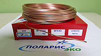 Капиллярная трубка медная 1.0 мм ( внутренний диаметр ) бухта 30м