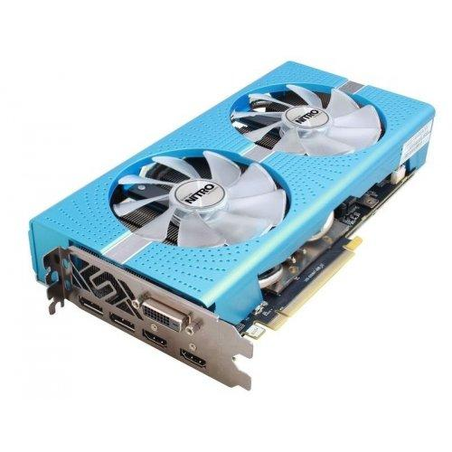 AMD Radeon Sapphire RX 580 8Gb Special Edition METAL BLUE NITRO+ (11265-21), б/у