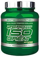 Zero Iso Great Whey Protein Isolate Scitec Nutrition (900 гр.)