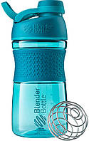 Шейкер Blender Bottle SportMixer Twist Cap Sea Blue (591 мл.) - Морской Голубой