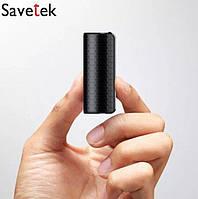 Диктофон Savetek 1000 с голосовой активацией записи 16gb (600 часов работы)