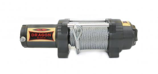 Лебедка Dragon Winch Highlander DWH 4500 HD Long стальной трос