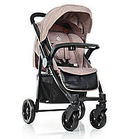 Детская прогулочная коляска 1027L Tempo цвет LATTE
