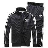 Спортивный костюм Adidas, Адидас, черный (в стиле), фото 2