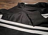 Спортивный костюм Adidas, Адидас, черный (в стиле), фото 5