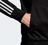 Мужской спортивный костюм Adidas (Адидас) черный с лампасами, фото 4