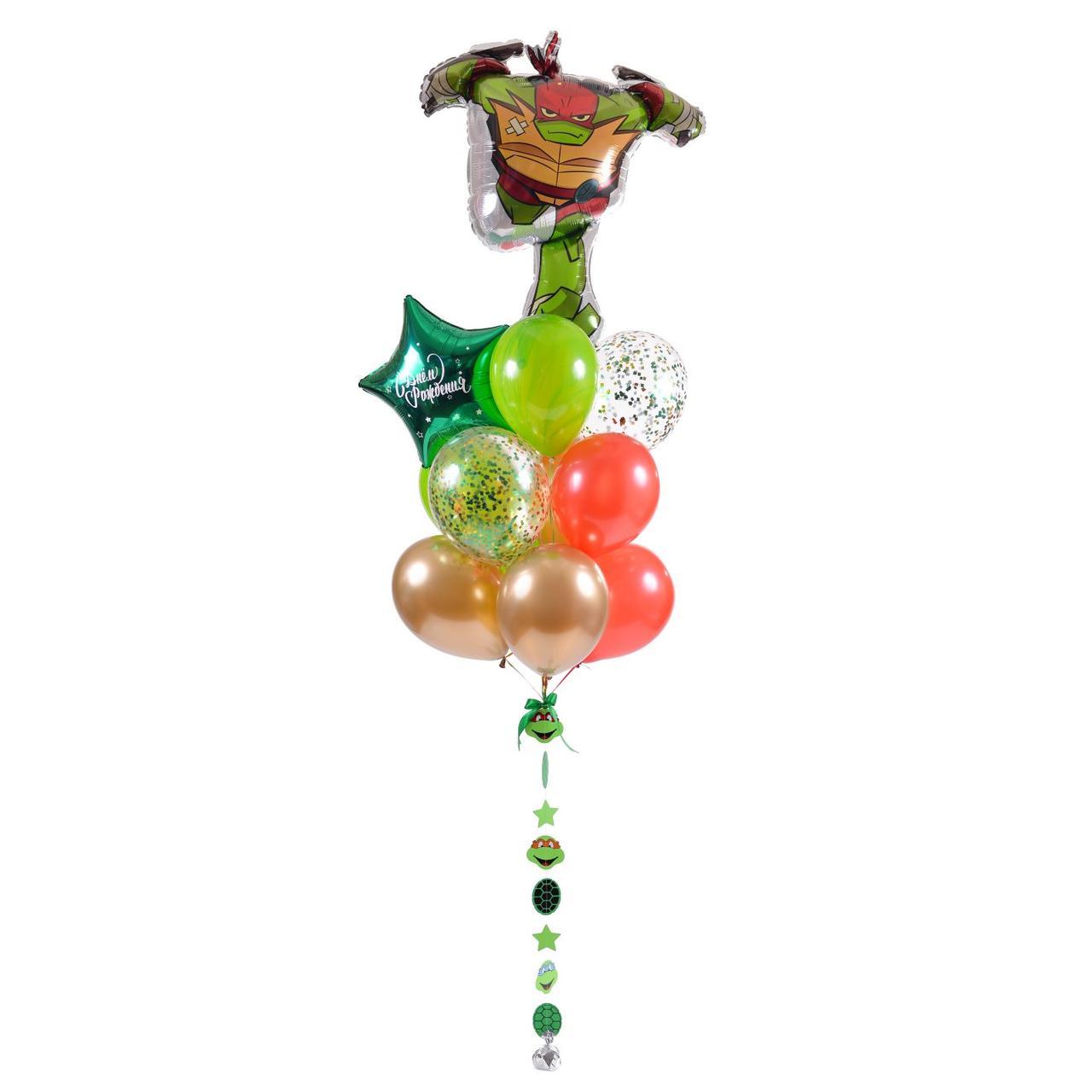 Связка: Черепашка-ниндзя Рафаэль, звезда С Днем рождения ...