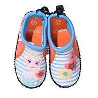 Детская обувь для плавания аквашузы Холодное сердце (Frozen) р. 24-34 ТМ ARDITEX WD12617, фото 1