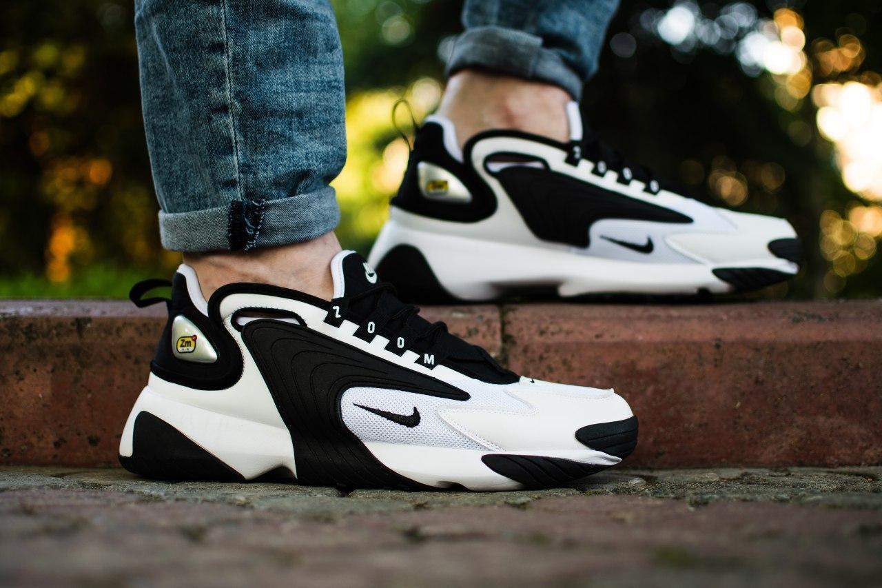 Кроссовки мужские Nike Wmns Zoom 2K White Black