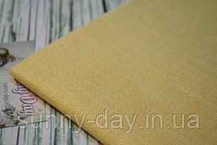 Ткань для вышивки Ubelhor EVA 4018, желтая - 28 каунт