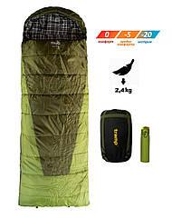 Спальный мешок одеяло Tramp Sherwood Long TRS-054L. Туристический спальник. спальник кокон