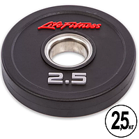 Блин (диск) полиуретановый d-51мм Life Fitness 2,5кг