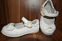 Туфли детские,б/у, р.24, стопа 15,5см. Кожа