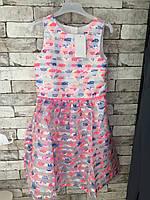 Платье Cool Club 1297 152 розовый