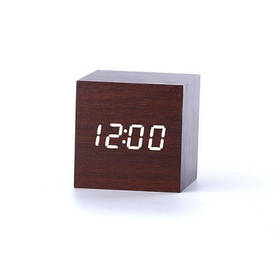 Настольные часы ART-869-2 Куб с термометром 55000994, КОД: 116780