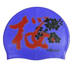 Шапочка для плавания SAKURA CAP 2150-00
