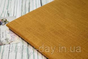 Ткань для вышивки Ubelhor EVA 4042, горчично-оранжевая - 28 каунт
