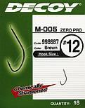 Крючок Decoy M-005 ZERO-PRO #22 (18 шт/уп), фото 4