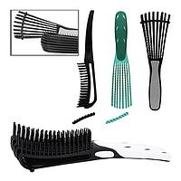 Гребінець продувная антистатична для густого волосся з розпіркою (трансформер)