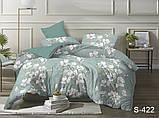 Двуспальный комплект постельного белья Сатин люкс ТМ TAG., фото 2