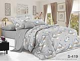 Двуспальный комплект постельного белья Сатин люкс ТМ TAG., фото 6