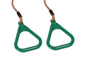 Кольца на веревках для детских площадок Just Fun Зеленый