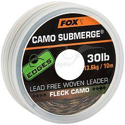 Лидкор Fox International Camo Submerged 10m 30lb Fleck Camo